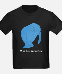 M is for Manatee T