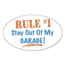 Garage Oval Decal