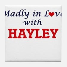 Madly in Love with Hayley Tile Coaster