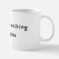 Rather Be Walking My Pekingese Mug