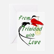 From Trinidad With Love Greeting Card