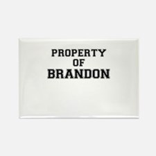 Property of BRANDON Magnets