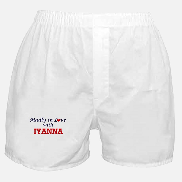 Madly in Love with Iyanna Boxer Shorts