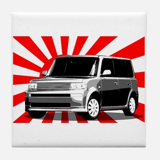 Scion xB Japan Tile Coaster