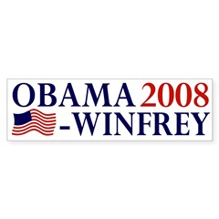 Obama-Winfrey 2008 bumper sticker