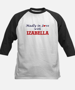Madly in Love with Izabella Baseball Jersey