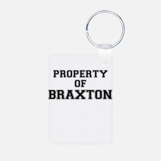 Property of BRAXTON Keychains