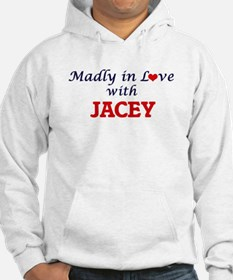 Madly in Love with Jacey Hoodie Sweatshirt