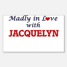 Madly in Love with Jacquelyn Decal