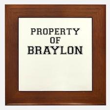 Property of BRAYLON Framed Tile