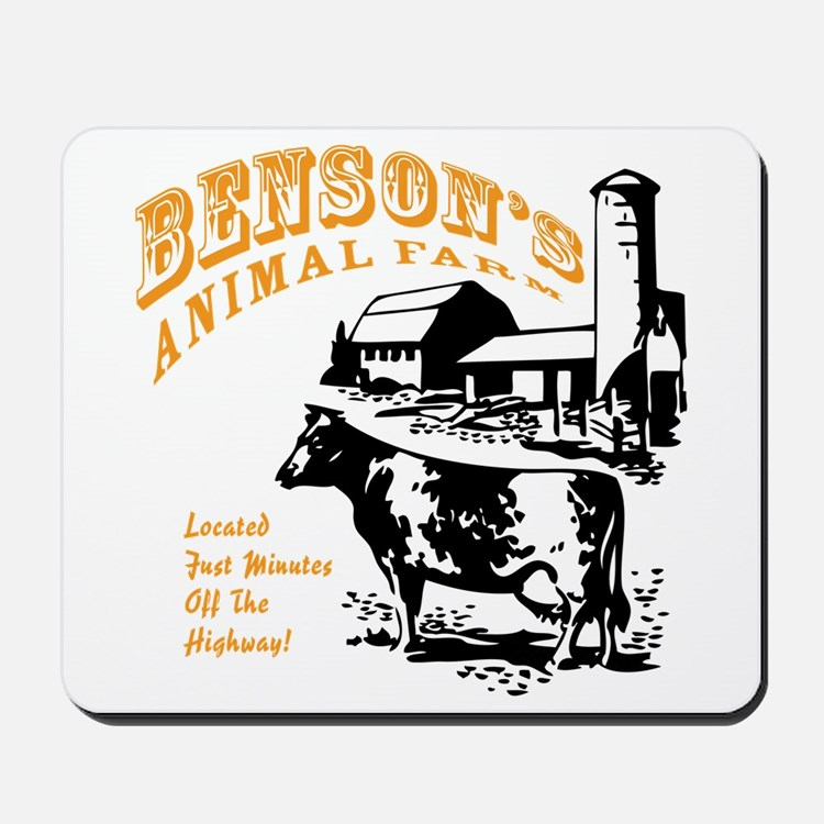 Benson's Animal Farm Mousepad