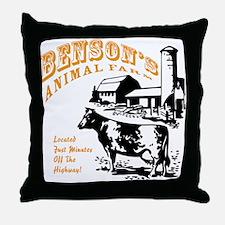 Benson's Animal Farm Throw Pillow
