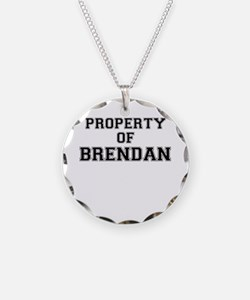 Property of BRENDAN Necklace