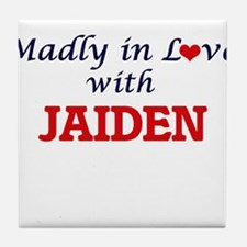 Madly in Love with Jaiden Tile Coaster