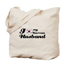 I love my Korean Husband Tote Bag