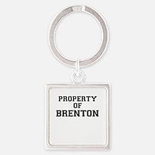 Property of BRENTON Keychains