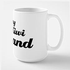 I love my Kiwi husband Large Mug