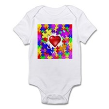 Love Breaks Thru Infant Bodysuit