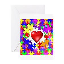 Love Breaks Thru Greeting Card
