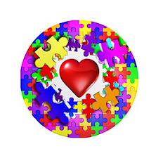 """Love Breaks Thru 3.5"""" Button (100 pack)"""