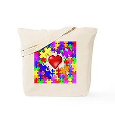 Love Breaks Thru Tote Bag