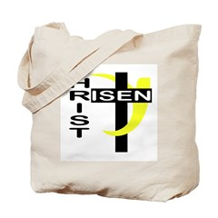 Christ is Risen Christian Tote Bag