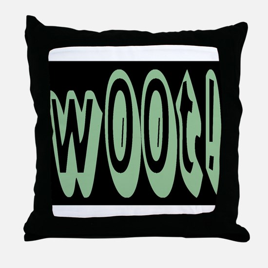 another w00t! Throw Pillow