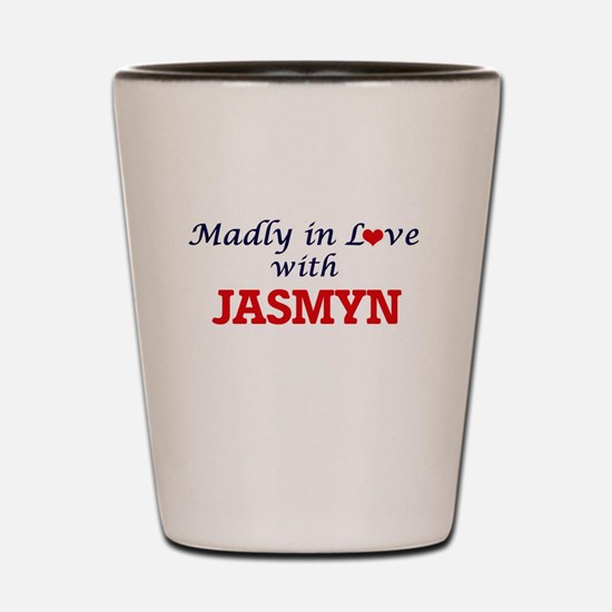 Madly in Love with Jasmyn Shot Glass