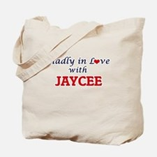 Madly in Love with Jaycee Tote Bag