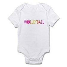 Volleyball 1 Infant Bodysuit