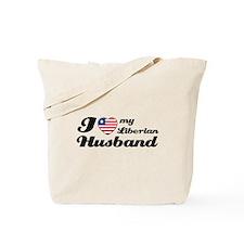 I love my Liberian Husband Tote Bag
