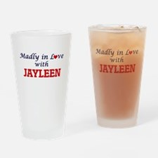 Madly in Love with Jayleen Drinking Glass