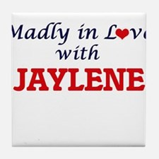 Madly in Love with Jaylene Tile Coaster