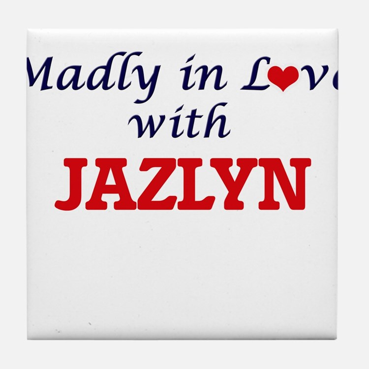Madly in Love with Jazlyn Tile Coaster