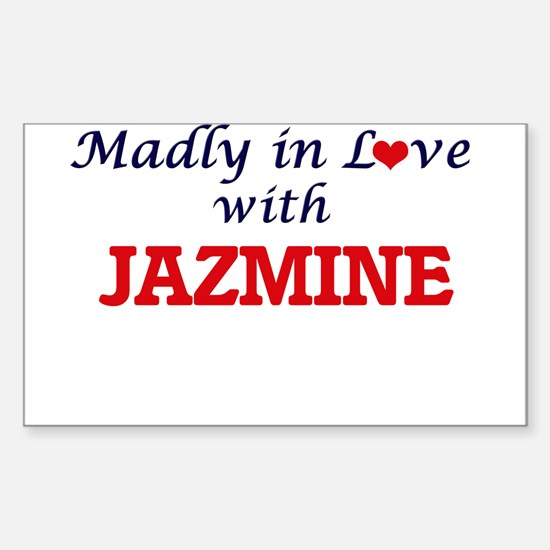 Madly in Love with Jazmine Decal