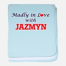 Madly in Love with Jazmyn baby blanket