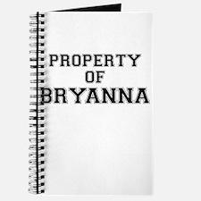 Property of BRYANNA Journal