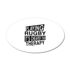 Awesome Rugby Player Designs Wall Decal