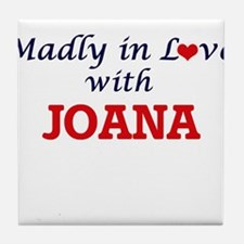 Madly in Love with Joana Tile Coaster