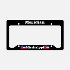 Meridian MS License Plate Holder