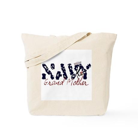 Navy Grandmother Tote Bag