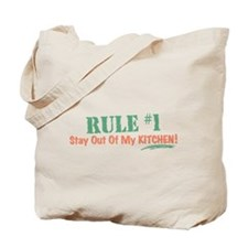 Kitchen Cook Rules Tote Bag