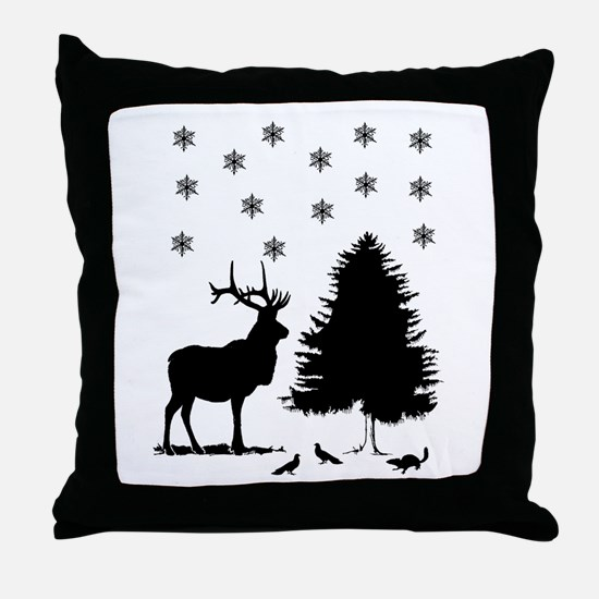 Christmas design Throw Pillow
