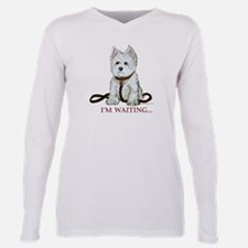Cute Westie dogs Plus Size Long Sleeve Tee