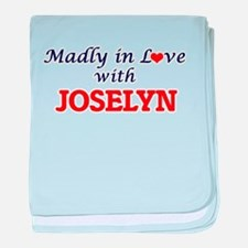 Madly in Love with Joselyn baby blanket