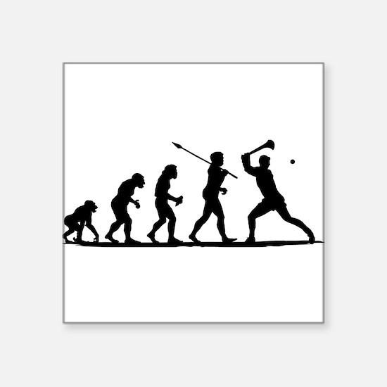 Hurling Sticker