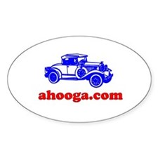 Ahooga Logo Oval Decal
