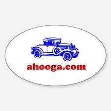Ahooga Logo Oval Decal