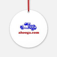 Ahooga Logo Ornament (Round)