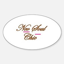 Neo Soul Chic Oval Decal